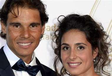 Rafael Nadal y su novia María Francisca 'Mery' Perelló. foto: Internet