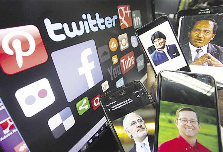 Según los expertos, hay tres formas de que la propaganda política siga activa en las redes sociales y no existe legislación clara sobre ese tema. Foto: JORGE UECHI