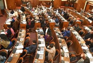 La sesión de la Cámara Baja abordó las modificaciones realizadas por el Senado I Foto: Diputados.