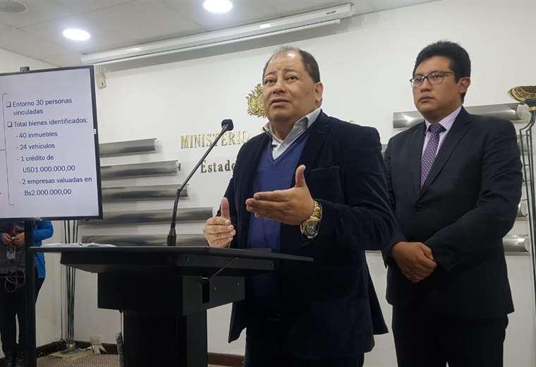 La autoridad brindó conferencia de prensa este miércoles en La Paz I Foto: archivo.