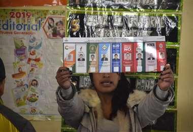 La población acudió masivamente a las urnas I Foto: APG Noticias.