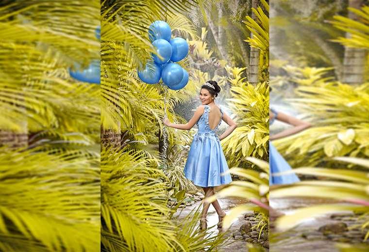 Quinceañera. Gladys Oriana Menacho Bruno competirá en Química en las Olimpiadas Plurinacionales. Le fascina esta materia, pero también la moda y la belleza. Desea subirse a las pasarelas y saltar a la televisión. Foto: LIMBERGH IBÀÑEZ