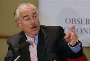 El exmandatario colombiano rechaza respostulación de Morales