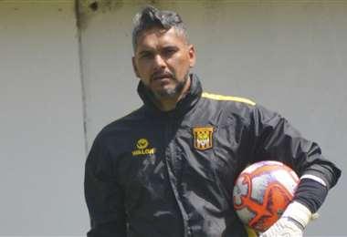 Daniel Vaca, arquero del Tigre. Foto: Prensa The Strongest