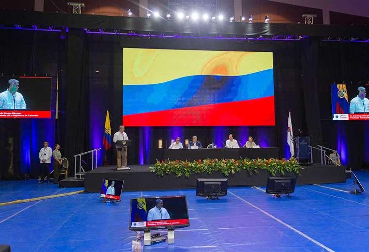 Hace dos meses, el mandatario colombiano ya formuló su preocupación por las repostulaciones.