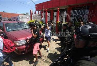Detenidos en la casa de campaña de Bolivia Dice No