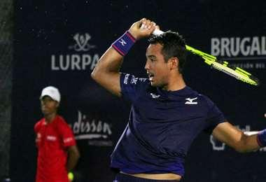 Dellien es el máximo representante del tenis boliviano. Foto: Prensa Hugo Dellien