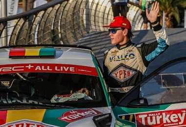 Marco Bulacia Wilkinson competirá en el Rally de España. Foto: Prensa Bulacia