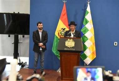 Ambas autoridad pidieron esperar los resultados oficiales I Foto: Cancillería.