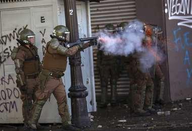 Desde el viernes, Chile vive días de protestas y violencia que ya dejan un saldo de 11 fallecidos   AFP