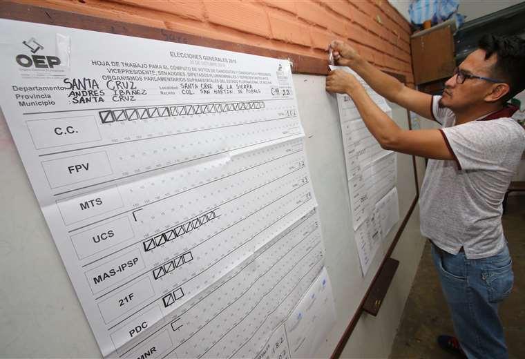 Más de 7 millones de bolivianos estaban habilitados para emitir su voto. (Foto: Hernán Virgo)