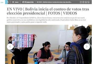 El diario brasileño siguió de cerca la jornada y compartió el incidente con jóvenes detenidos