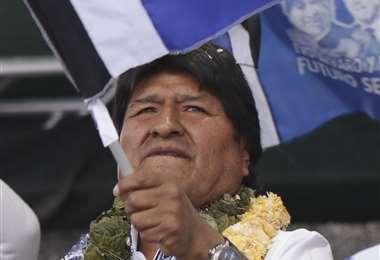 Evo Morales salió airoso, una vez más en el extranjero.
