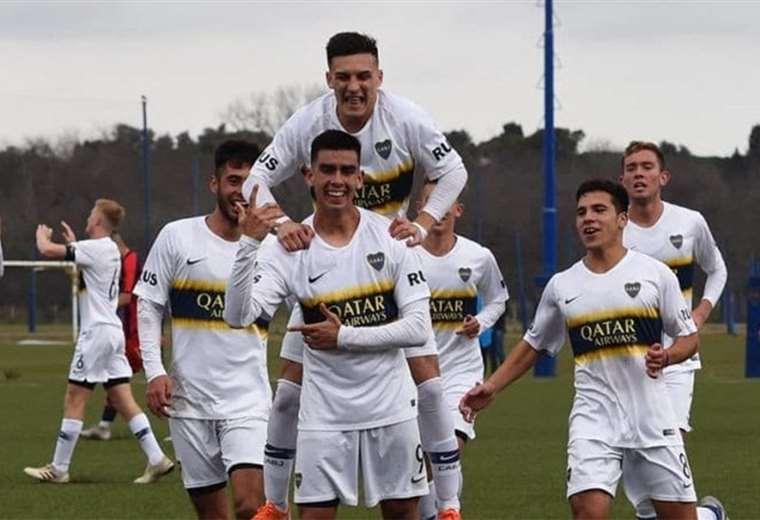 Melgar anotó en la quinta categoría de Boca. Foto: Twitter