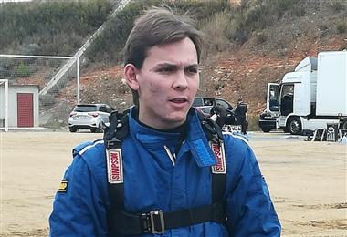 Marquito Bulacia, piloto boliviano que participa en el Mundial de Rally. Foto: Rainer Duran