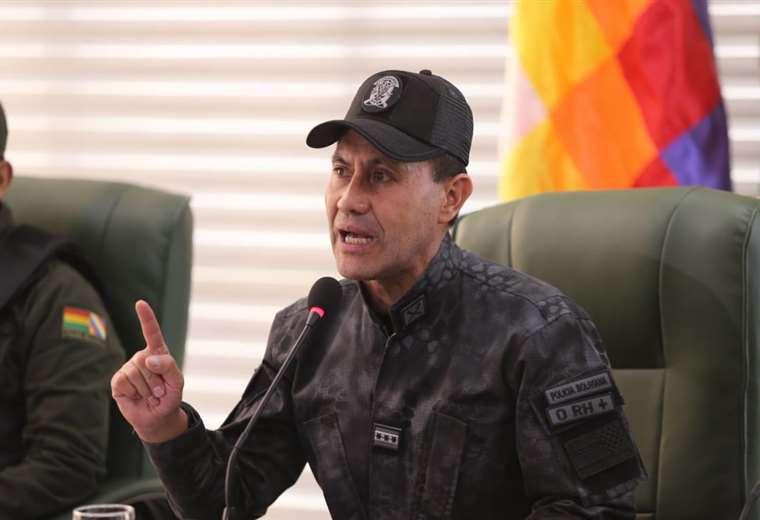 El comandante de la Policía de Santa Cruz, Igor Echegaray | Foto: Fuad Landívar