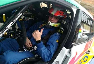 Marquito Bulacia irá por el podio en una nueva fecha del Rally Mundial. Foto. Rainer Durán