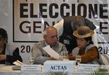 Las autoridades electorales son cuestionadas I Foto: APG Noticias.