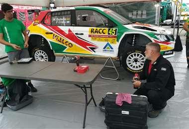 Ignacio 'Nacho' Soteras, primer mecánico del equipo de Marquito Bulacia. Foto: Rainer Durán