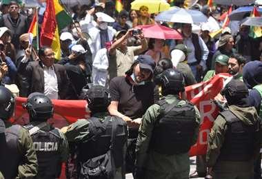 Las manifestaciones persisten en varias regiones del país I Foto: APG Noticias.