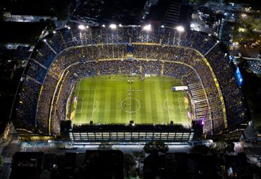 El partido se juega en la Bombonera. En la ida se impuso River por 2-0. Foto. @Libertadores