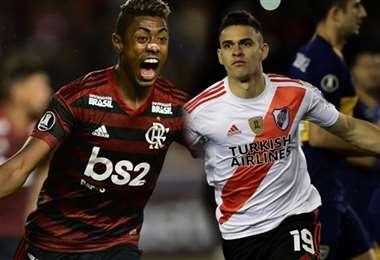 Henrique de Flamengo y Borre de River Plate se enfrentaran en la final de la Libertadores.