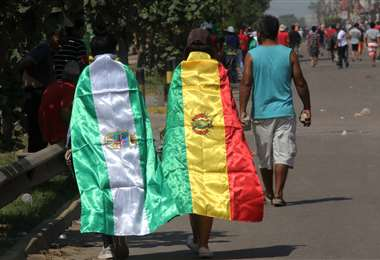 Los jóvenes forman parte de los grupos movilizados. Foto: Jorge Uechi