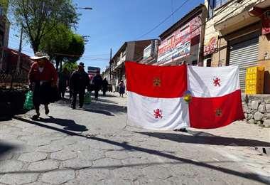 En Potosí la ciudad está paralizada y se teme enfrentamientos con el área rural. Foto: Juan Carlos Salinas