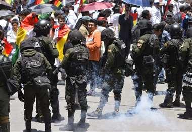 Las protestas persisten en algunas regiones del país I Foto: APG Noticias.