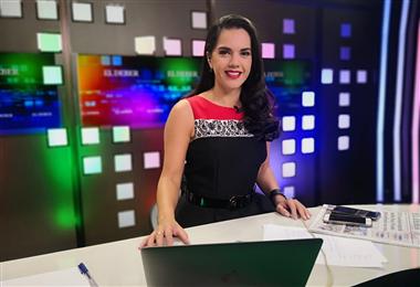 La periodista Sissy Añez forma parte del equipo del Grupo EL DEBER. (Foto: Pablo Cambará)