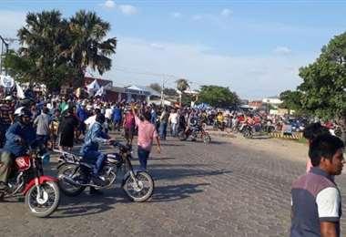 La marcha oficialista se acerca al punto de bloque