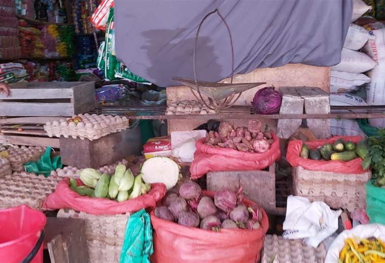 Escasez de verduras