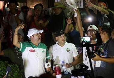 Camacho se dirigió a la población a través de un video en Facbook Live. Foto Jorge Gutiérrez