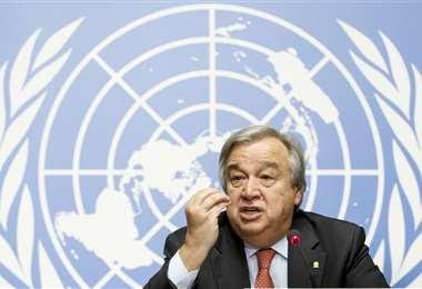 Antonio Guterres, secretario general de la ONU. Foto: Internet