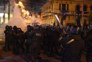 Las manifestaciones persisten en el país I Foto: APG Noticias.
