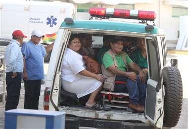 Desde la dirección de los hospitales se pide tener tolerancia. (Foto: Jorge Ibáñez)
