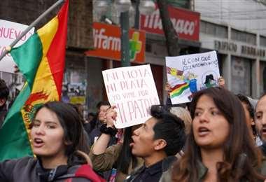 Ls protestas persisten en regiones del país I Foto: APG Noticias.