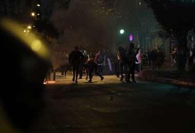 Enfrentamientos en Cochabamba   APG