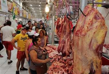Carne en los mercados