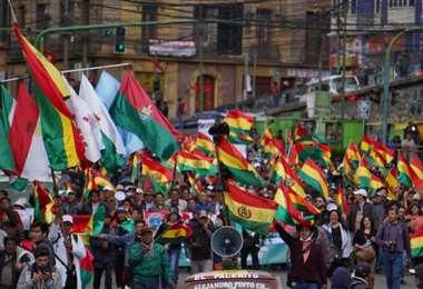 Miles de jóvenes protagonizan las protestas en el país I Foto: APG Noticias.