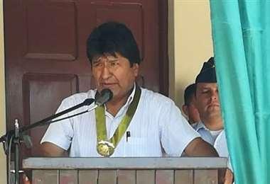 El jefe de Estado reprochó el ataque a sus militantes I Foto: captura.