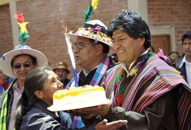El jefe de Estado está en Cochabamba I Foto: Comunicación.