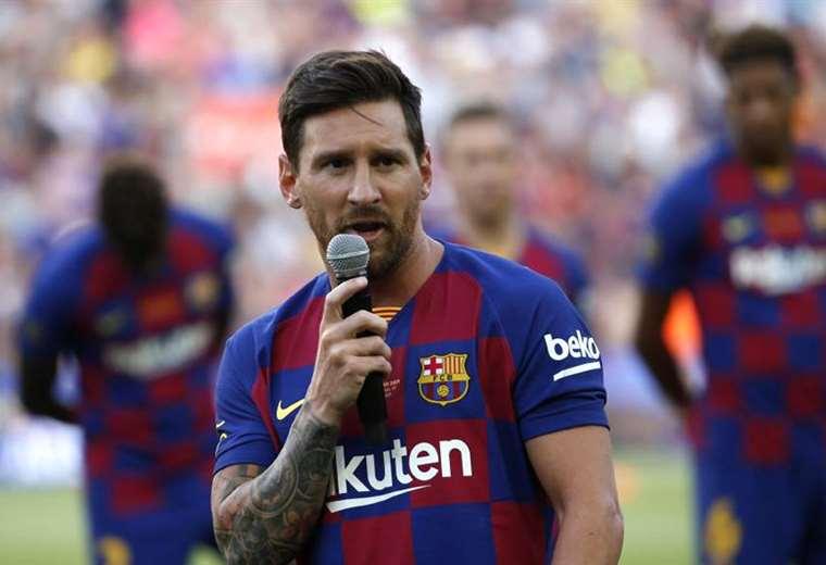 Lionel Messi es una de las figuras más emblemáticas en la historia del Barcelona. Foto. Internet