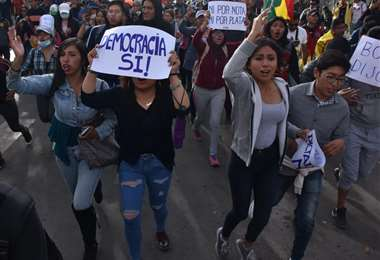 Las protestas en Bolivia están cerca de cumplir una semana