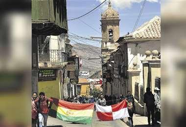 Comcipo se reunió con dirigentes de Sucre, Oruro y Tarija (APG)