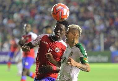 La última vez que Bolivia jugó un amistoso fue ante Haití (3-1) en Santa Cruz. Foto. Archivo DIEZ