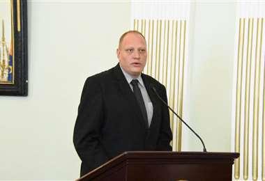El viceministro Blanco indicó que el canciller Diego Pary ya tuvo reuniones con el secretario general de la OEA.