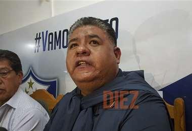 Wilson Martínez, presidente de San José