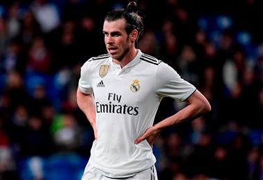 Gareth Bale no entrenó con sus compañeros del Real Madrid. Foto: AFP