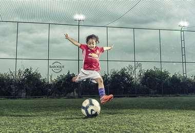 Arat Hosseini, la promesa iraní de seis años. Foto: Instagram